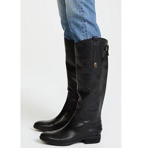 SAM EDELMAN Penny Riding Boots - Black - 7